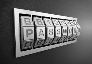 Confidentiality and security using a password
